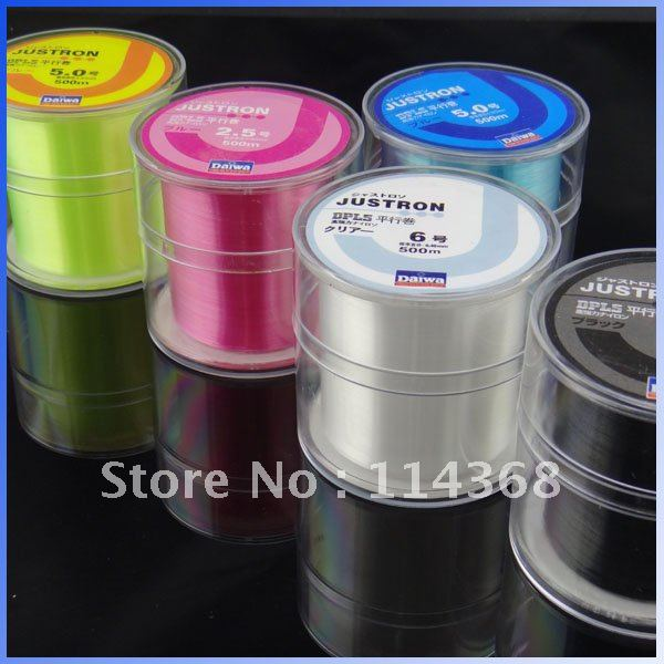 Free Shipping Monofilament Strong Quality Japanese Nylon Fishing Line 500m 8LB 10LB 12LB 16LB 20LB 25LB