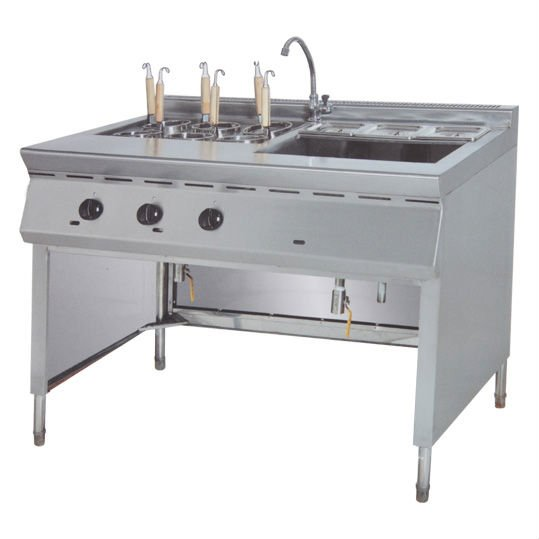 PK-JG-GH1176 Gas Convection Pasta Cooker & Bain Marie/ 6 pan, for Commercial Kitchen(China (Mainland))