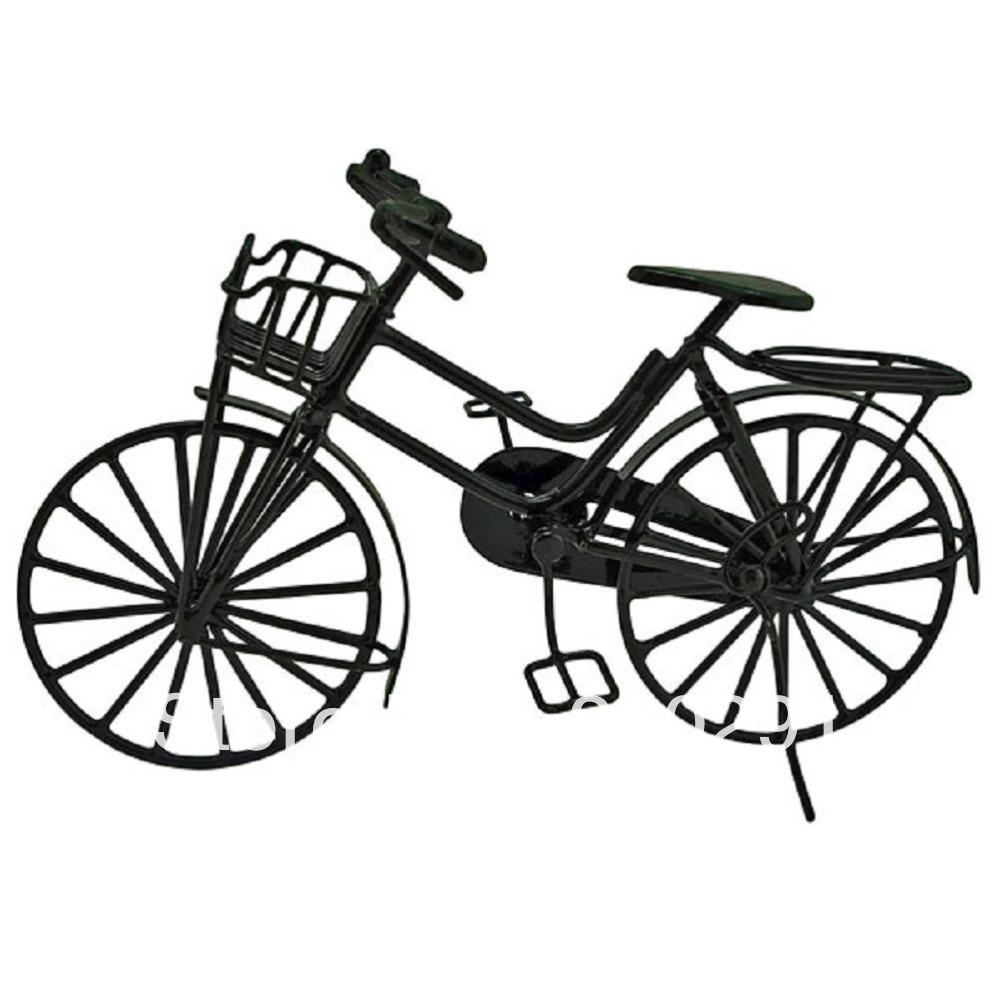 black wire vintage cycling bicycle bike 1 12 doll u0026 39 s house