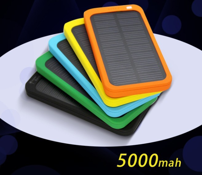 colorful Portable energy power bank source Special mobile SOLAR charger for iphone6 ipad SUMSING HTC digital camera PSP(China (Mainland))