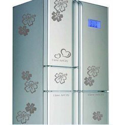 Wall stickers fashion refrigerator stickers decoration furniture decoration stickers(China (Mainland))