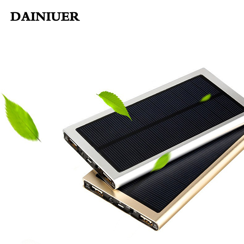 NEW BYJY Solar Power Bank 20000 mAh Universal External Battery Charger for iPhone 6 6 S Plus Samsung S7 all mobile phone(China (Mainland))