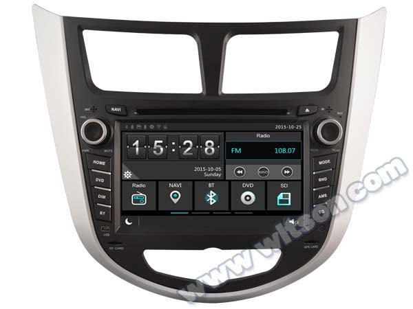 "7"" Capacitive Touch Screen Special Car DVD for Hyundai Verna 2010-2012 & Hyundai Soloris 2010-2012 & Hyundai Accent 2010-2012(China (Mainland))"