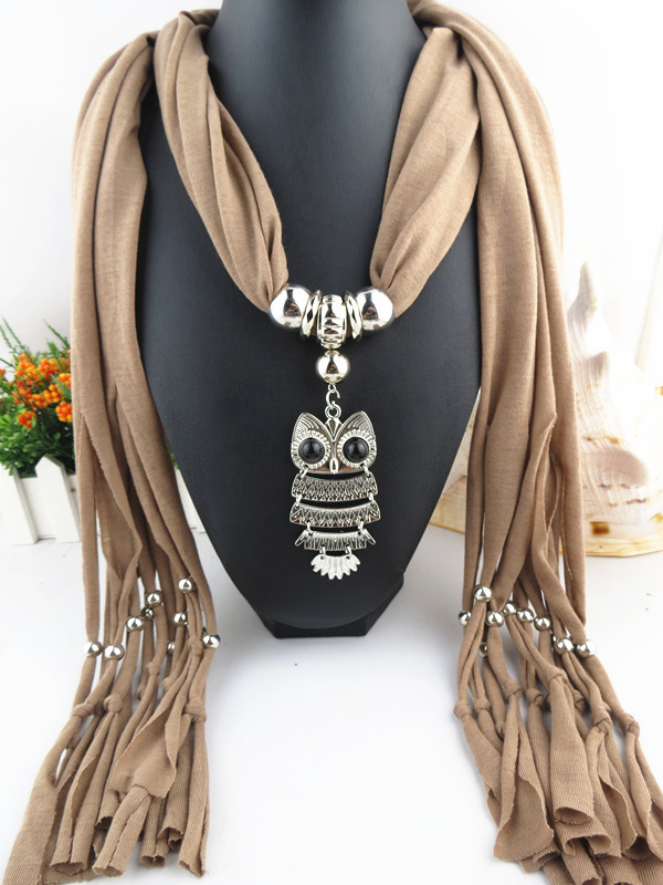 2014 fall fashion women scarves animal printed owl scarf cute scarf owl with branch voile long shawl(China (Mainland))