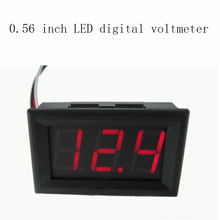Mini DC 4.5V-30.0V Voltmeter High Quality 0.56 inch LED Digital Voltmeter suitable for different occasions(China (Mainland))