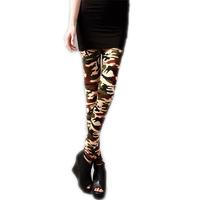 HOT SALE WOMEN'S CAMO STRETCH ELASTIC SLIM LEGGINGS WF-45385