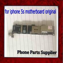 Хорошо Работает Для iphone 5s Материнской Платы с Чипами, Оригинальный Разблокирована для iphone 5s Плате без Идентификации По Отпечаткам Пальцев(China (Mainland))