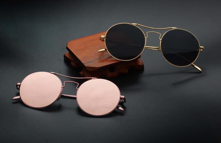 2015 Brand Designer New Arrival Driving round polychrome Retro women and men Sunglasses Funny oculo de sol feminino JW189(China (Mainland))