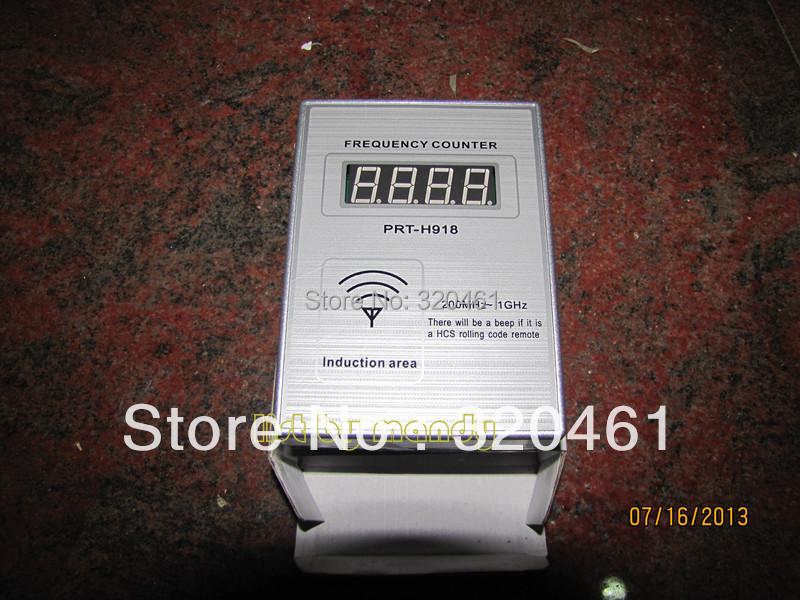 Livraison gratuite clé de voiture compteur de fréquence QN-H918 ( 200 MHz à 1 GHz )(China (Mainland))