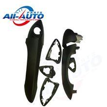 Передняя внешний черный живопись автомобиль дверные ручки снаружи дверной ручки для BMW для X5 2000 — 2006 APH0089 OEM : 51218243617/51218243618