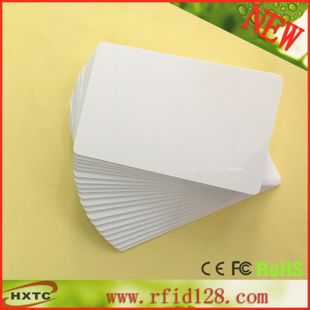 125khz Smart RFID card with EM4305 Rewritable Chip ID card (CR80 Standard) Support Duplication Copier EM4100 , HID Cards(China (Mainland))