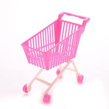 Putri Stroller Cart untuk BJD Reborn Boneka Aksesoris Perabot Gadget Mainan Yang Menarik Gadis Hadiah(China)