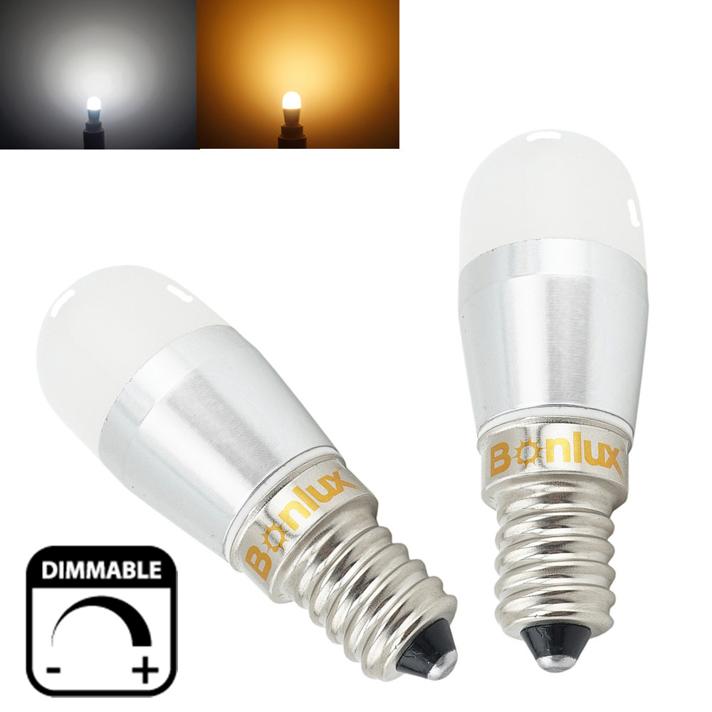 Dimmable LED E14 Fridge Bulb 3W 250lm Refrigerator Light Replace 25W Halogen for Sewing Machine Freezer Microwave Lighting(China (Mainland))