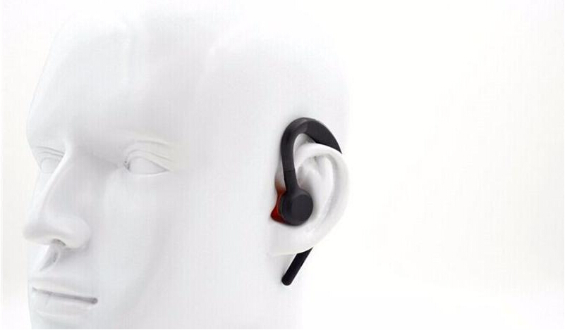 New Style Voice Control Wireless Bluetooth Headset Stereo Earphones HD Voice Headphones Wind Noise For Storm For Samsung Iphone(China (Mainland))