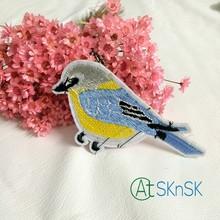 Buy A2 10pcs/lot Clothes diy accessories lace trim birds Patches applique embroidery material applique embroidered bird patch for $8.84 in AliExpress store