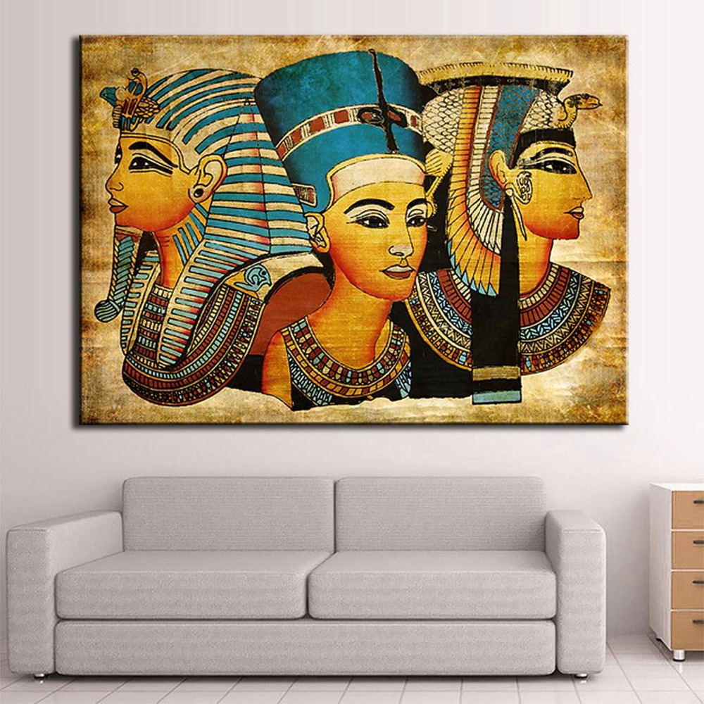 1 Panel Fashion HD Large Canvas painting The egyptians Home Decor Cheap Modern Canvas Art Canvas Paintings(China (Mainland))