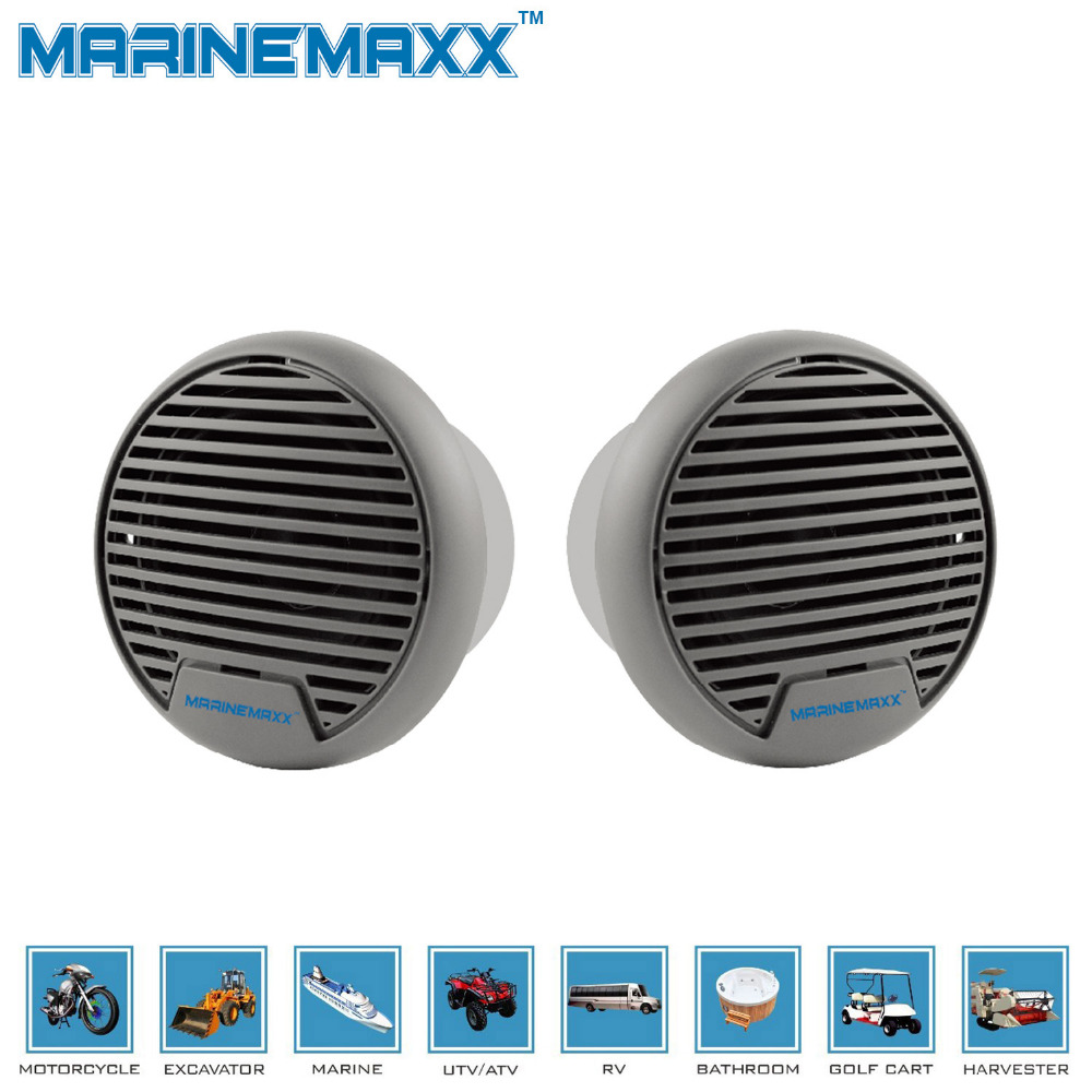 """Waterproof Motorcycle Speakers Portable Quality 140W 3"""" Heavy Duty Mini Marine Speakers for ATV UTV Tractor Boat Surface Mounted(China (Mainland))"""