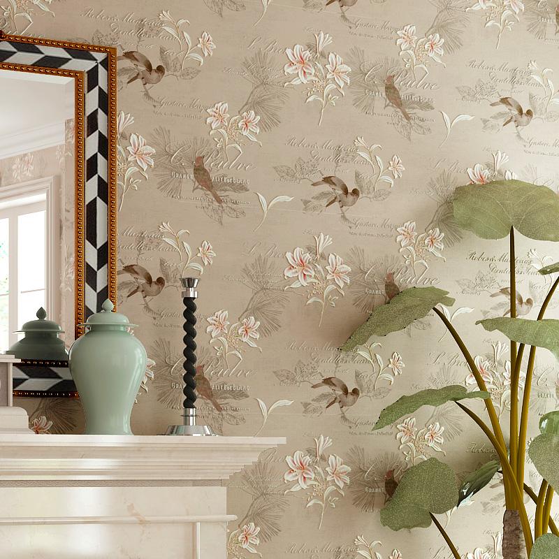 Papel parede quarto rustico obtenha uma for Papel de pared rustico