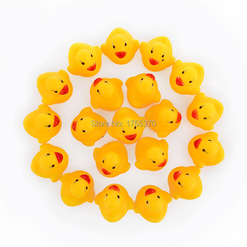 Classic Bath Toys Soft Rubber Squeaky Ducky Animal Toy Safety Baby Bath Tub Toy For Kids