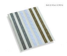 2sets of 204pcs DIY Scrapbook Paper Photo Albums Frame Picture Decoration Corner Stickers pvc (102pcs/set)(China)