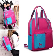 Brand Customized 2016 New Women School Bag Adult Classic Water-Proof Outdoor sportsTravel Hiking Lightweight Backpacks(China (Mainland))