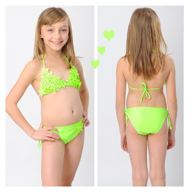 Kids Girl Swimsuit Back Photo Sexy Girls