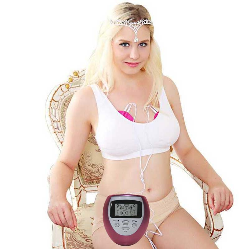 Electric breast enlargement Muscle Pain Relief Firmer Massager women Healthy big Breast bra Enhancer Enlarger Massage machine(China (Mainland))