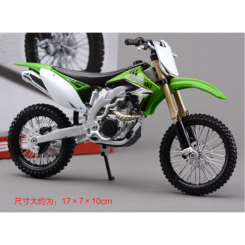 Kawasaki KX450F Metal Kit Diecast Motorbike Model Maisto Assembly Toys 1:12 Scale Model Motorcycle Free shipping(China (Mainland))
