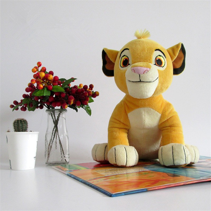 Movie Cartoon Plush Toys The Lion King Figures Simba Soft Stuffed Doll Kids Baby Children Kawaii Gift 26cm (9)