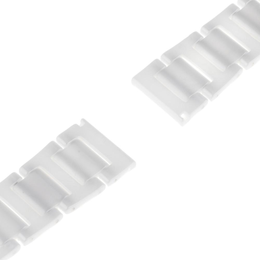 18 мм 20 мм Керамический Смотреть Полоса для Longines L2 L3 L4 Мастер Завоевания Бабочка Пряжка Ремешок Наручные Пояс Браслет черный Белый
