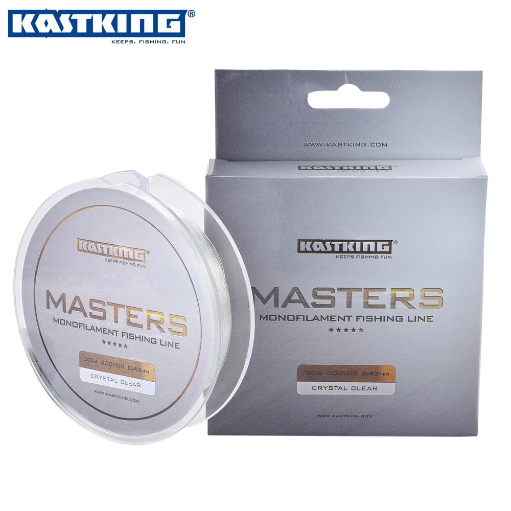 KastKing 300Yds/274M Masters Premium Monofilament Line 0.14-0.43mm Nylon Fishing Line 2016 New 4-30LB Mono Nylon Line(China (Mainland))