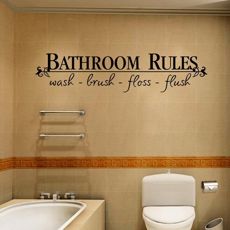 Vinilos para cuarto de baño: e ir el tipo de puerta más adecuado ...