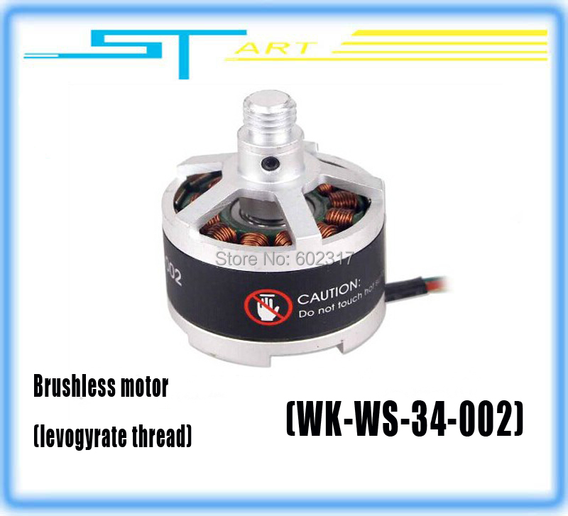 100% Original Walkera Scout X4-Z-11 Brushless Motor Levogyrate Thread WK-WS-34-002 RC Drone FPV Hexacopter helicopter<br><br>Aliexpress