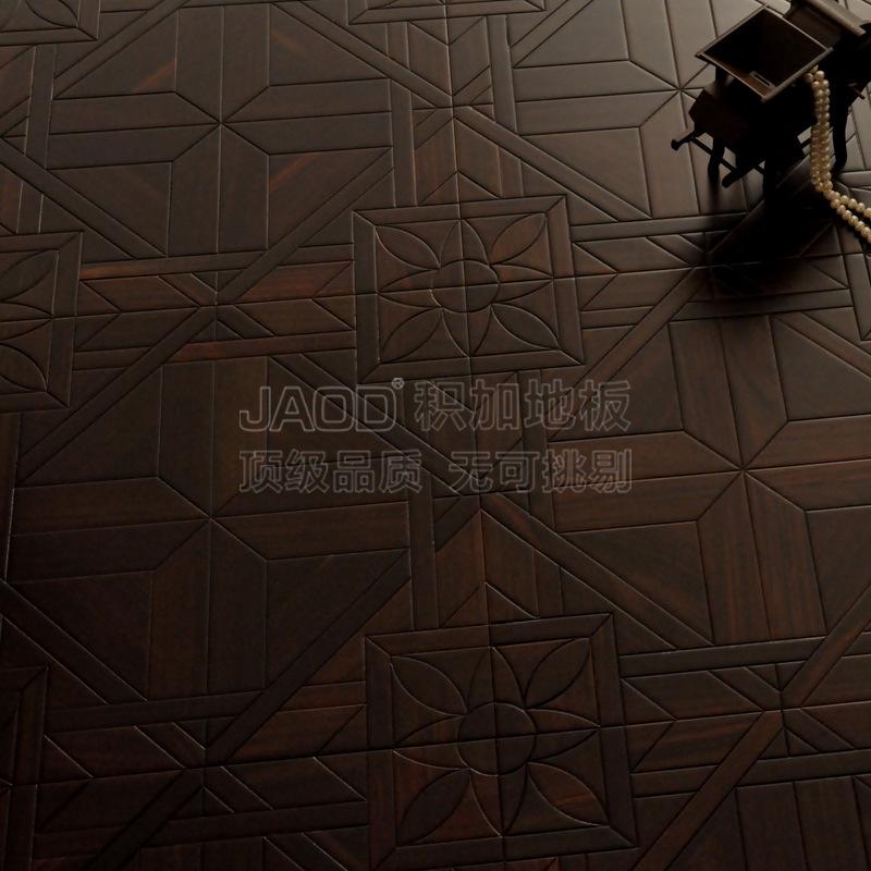 Hardwood flooring art parquet black wood to warm geothermal natural health genuine factory direct JJ(China (Mainland))