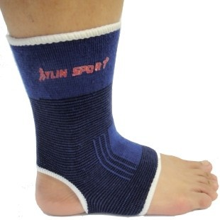 100% Socks w 1 Pair Ankle Pad Protection Elastic Brace Guard Support Sports Gym For Wholesale Kylin Sport(China (Mainland))