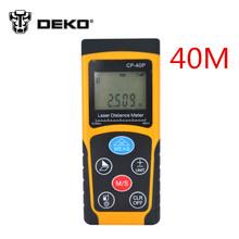 RZ40 -0.05 40m 131ft Digital Laser distance meter Rangefinder Range finder Bubble level Tape measure Area/volume tool