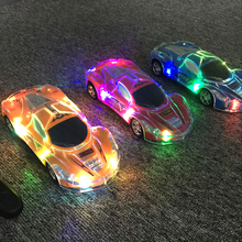 Buy Fun fantasy flashing led light remote control car toys children kids boys fun electric rc car toys gift present model stunt for $36.00 in AliExpress store