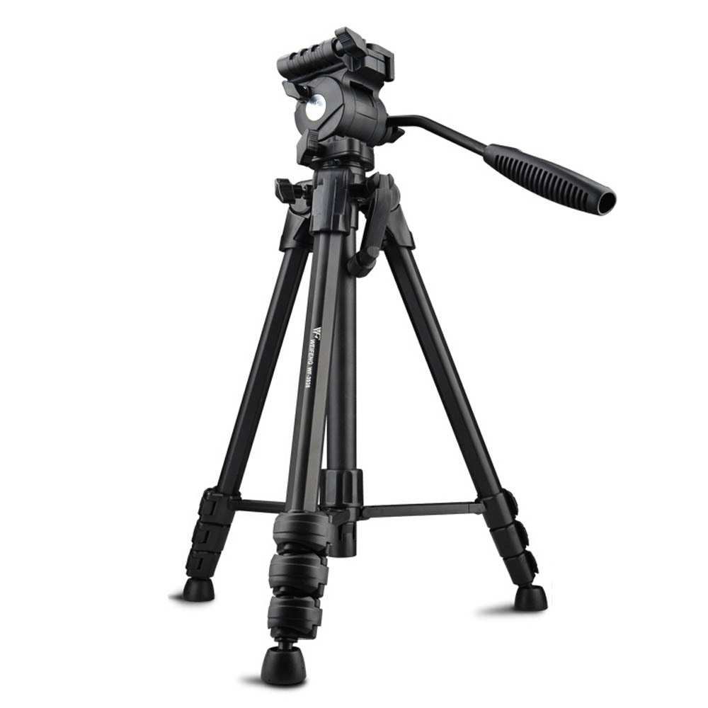 Newest Weifeng WF3938 Professional Portable Aluminum Tripod Fluid Damping Tripod Head For Canon Eos Nikon Sony SLR DSLR Camera(China (Mainland))