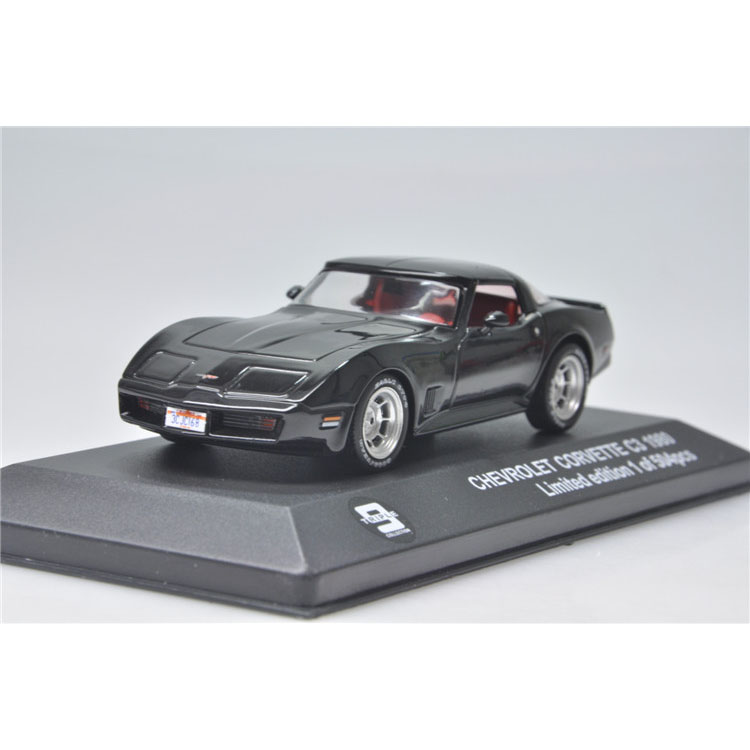 1:43 Triple9 Chevy Corvette 1980 Chevrolet Corvette car model
