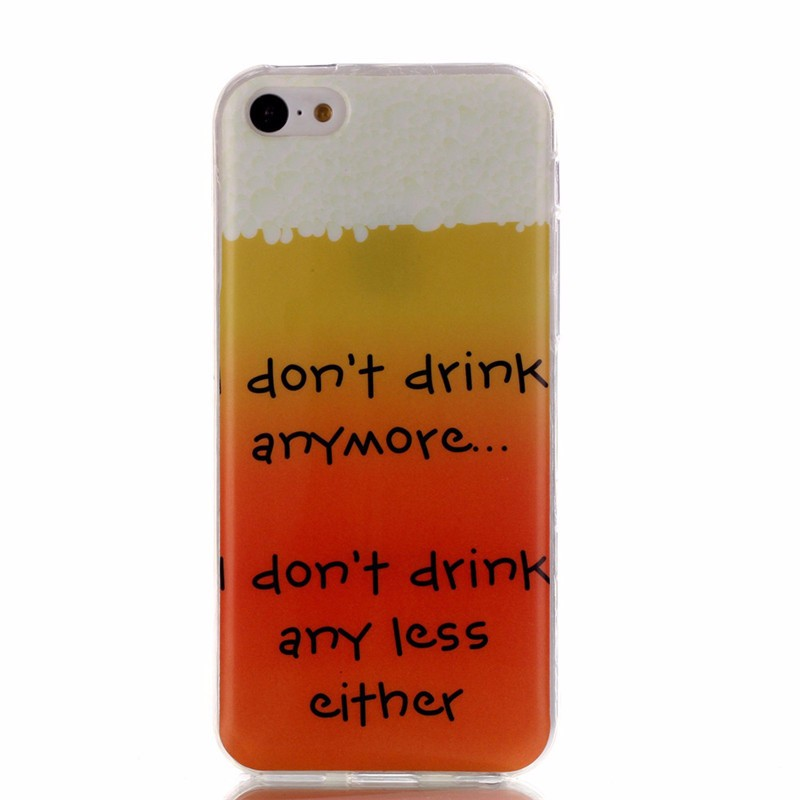 Hot Selling Fashion Cartoon Case for iPhone 5C Phone Case Soft TPU Cover Capa for iPhone 5C Coque Funda for iPhone 5c Capinha