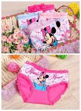 6pcs/lot fashion kids panties girls' briefs female child underwear lovely cartoon panties children clothing etnn246(China (Mainland))
