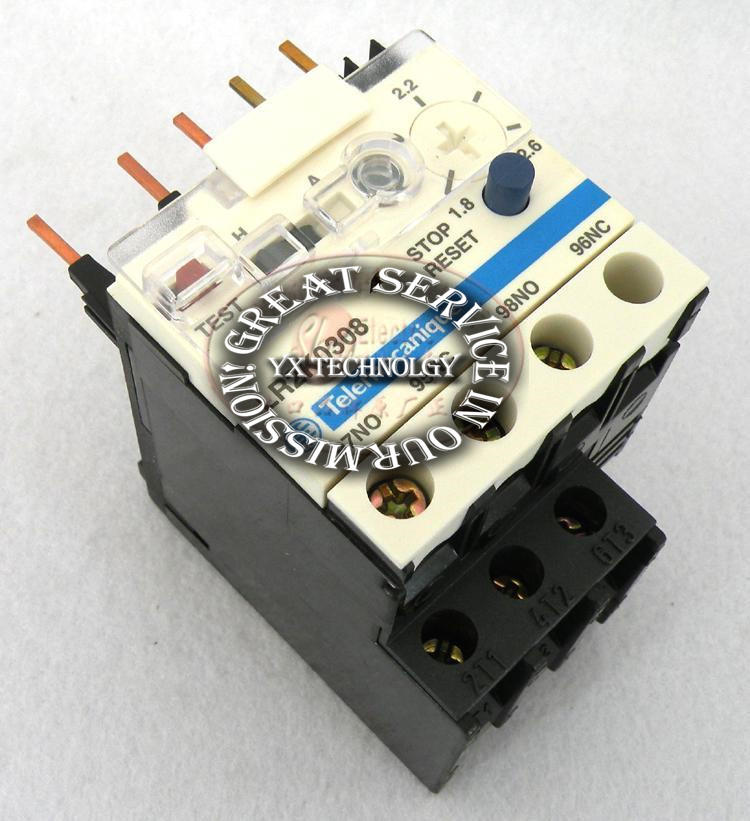 Thermal overload relay LR2K0308 1.8-2.6A<br><br>Aliexpress