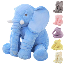 Buy 65 cm Large Kids Plush Elephant Toy Kids Sleeping Back Cushion Elephant Doll PP Cotton Lining Baby Doll Stuffed Animals for $20.54 in AliExpress store