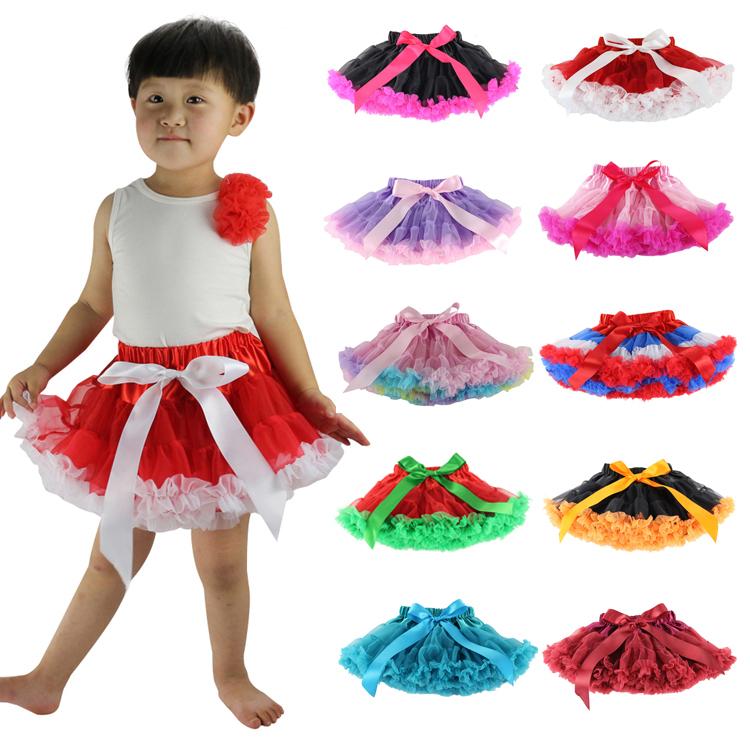 Rushed Saias Baby And Children Girls Fluffy Pettiskirts Tutu Petti Skirt Princess Skirts Pettiskirt Tutu1-10t Free Shipping(China (Mainland))
