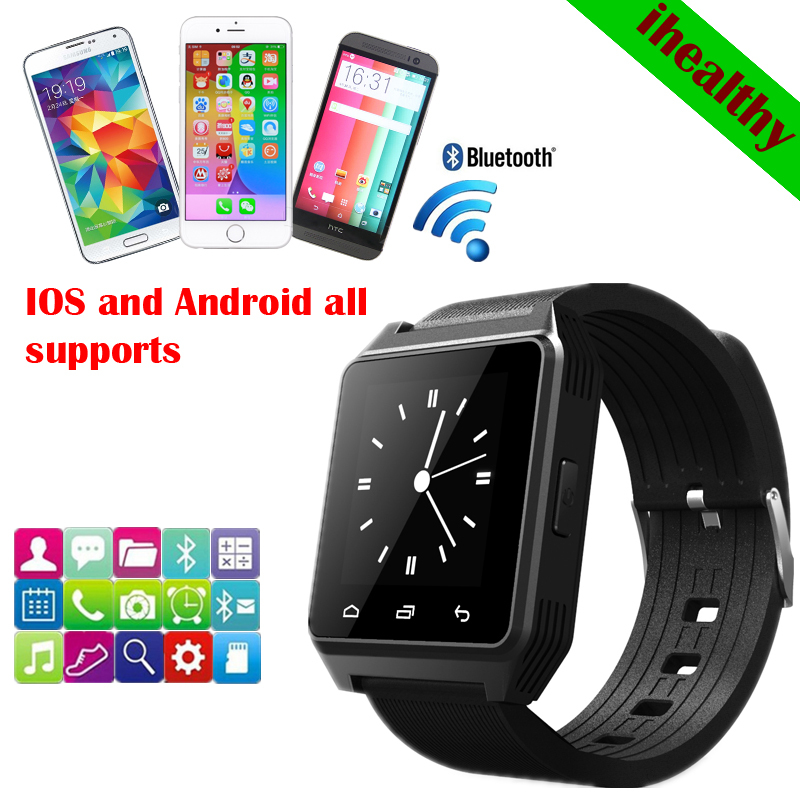 produto 2014 New Fashion M28 LED Bluetooth Watch with Dial/Call Answer/SMS Reminding/Music Player/Anti-lost for ios  Samsung/HTC + More