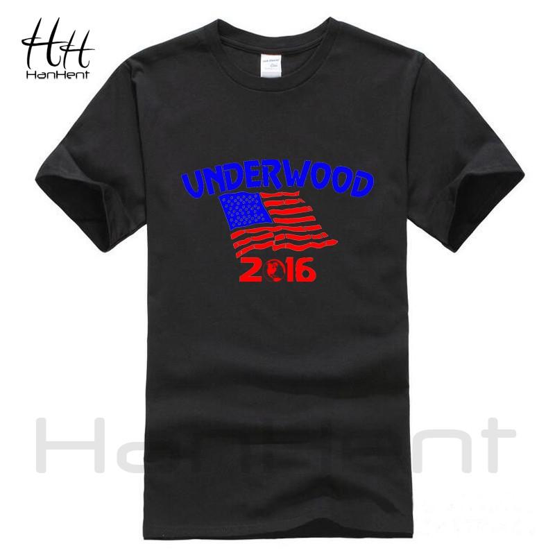 HanHent Underwood T-Shirt Mens House Of Cards TV Men's Cotton Shirt Wrestling Funny Streetwear Sport Men Suit Swag USA T Shirt  HTB1M5LXLVXXXXbMXFXXq6xXFXXXO