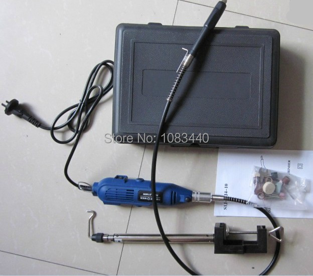 High quality LRUXOR Electric Tools Mini Grinder Drill carving burnish with 40 pcs polishing Accessories 30pcs