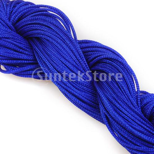 Free Shipping 1mm Nylon Cord Chinese Knot Cord Jewelry Cord 27yd - Royal Blue(China (Mainland))