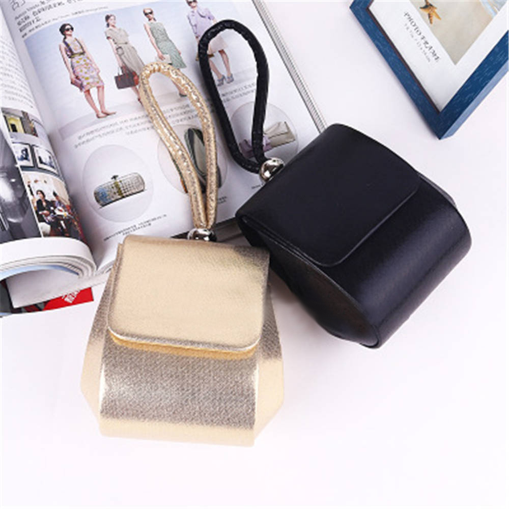 Women's Fashion Small Shell Leather Handbag /Women Messenger Bags/Crossbody Bag Women's Gold Color Clutches(China (Mainland))