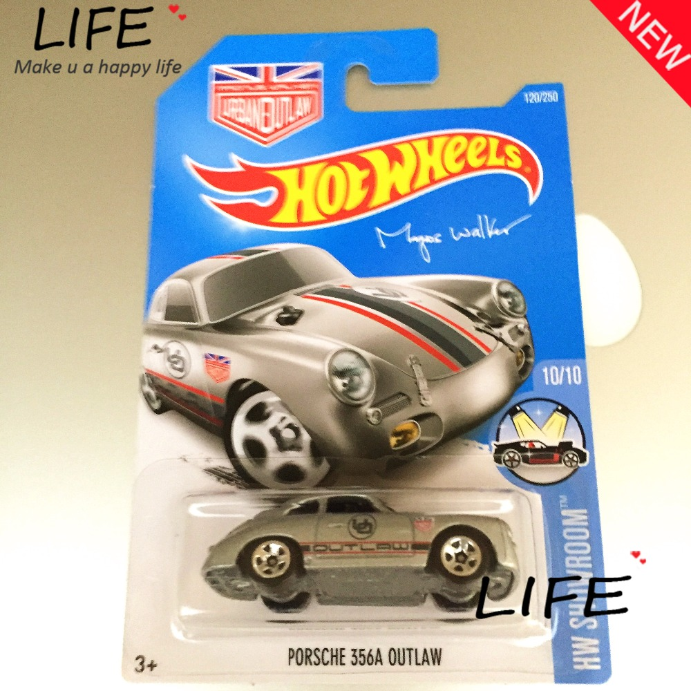 2016 Free Shipping Hot Wheels 356A OUTLAW Car Models Metal Diecast Cars Collection Kids Toys Vehicle For Children Juguetes(China (Mainland))